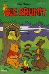 Cover for Ole Brumm (Hjemmet, 1981 series) #5/1981