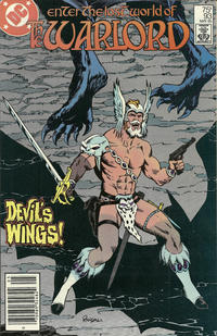 Cover for Warlord (DC, 1976 series) #93 [Direct Sales]