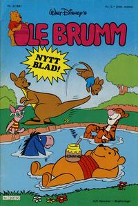Cover Thumbnail for Ole Brumm (Hjemmet, 1981 series) #3/1981