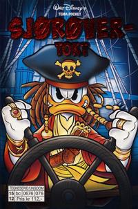 Cover Thumbnail for Donald Duck Tema pocket; Walt Disney's Tema pocket (Hjemmet / Egmont, 1997 series) #[72] - Sjørøvertokt