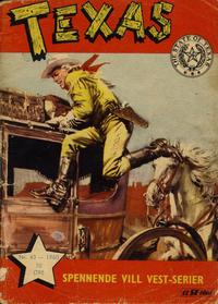 Cover Thumbnail for Texas (Serieforlaget / Se-Bladene / Stabenfeldt, 1953 series) #43/1960