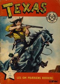 Cover Thumbnail for Texas (Serieforlaget / Se-Bladene / Stabenfeldt, 1953 series) #44/1960
