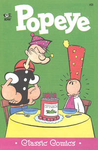 Cover Thumbnail for Classic Popeye (IDW, 2012 series) #31