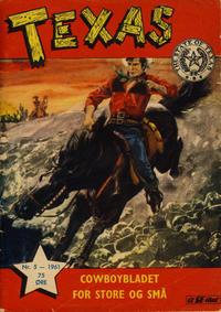 Cover Thumbnail for Texas (Serieforlaget / Se-Bladene / Stabenfeldt, 1953 series) #5/1961