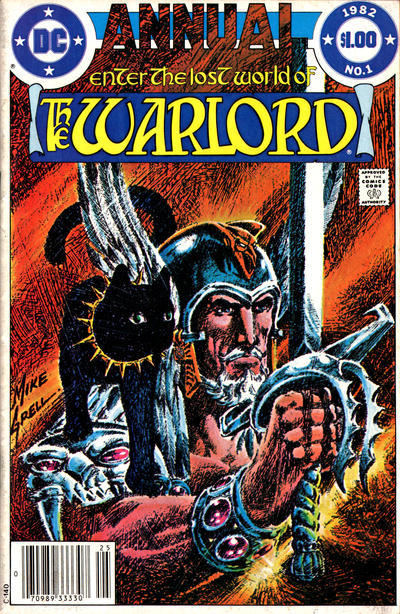 Cover for Warlord Annual (DC, 1982 series) #1 [Direct Edition]
