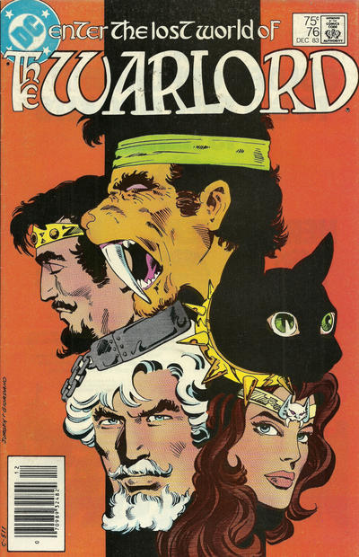 Cover for Warlord (DC, 1976 series) #76 [Direct-Sales]