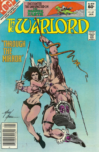 Cover for Warlord (DC, 1976 series) #65 [Direct Sales]