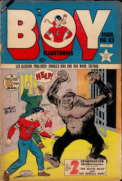 Cover for Boy Comics (Lev Gleason, 1942 series) #63