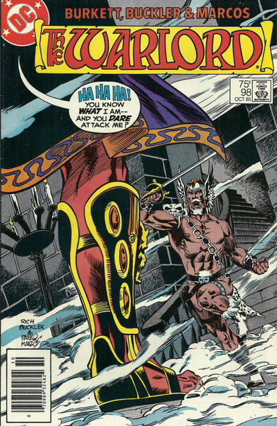 Cover for Warlord (DC, 1976 series) #98 [direct]