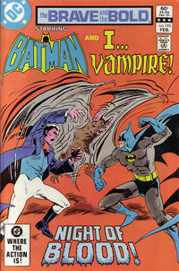 Cover Thumbnail for The Brave and the Bold (DC, 1955 series) #195 [Direct]