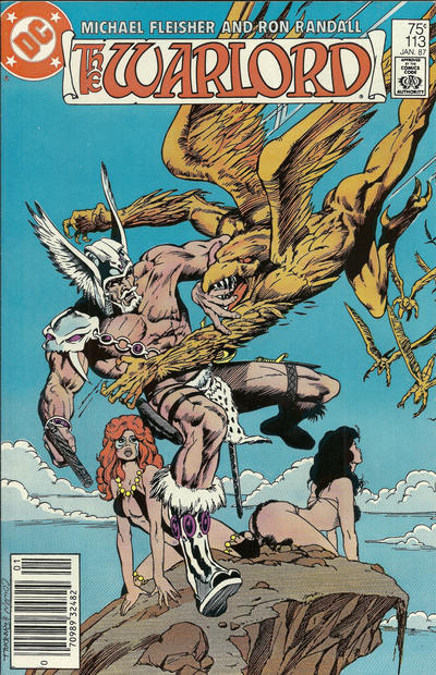 Cover for Warlord (DC, 1976 series) #113 [Direct Sales]