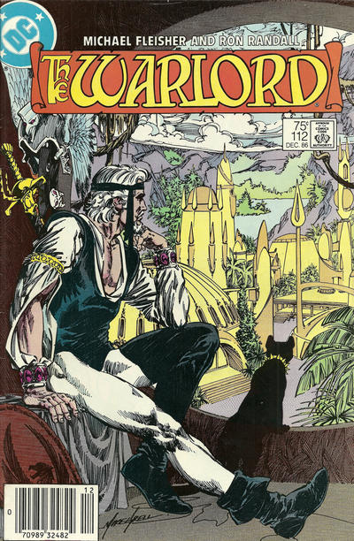 Cover for Warlord (DC, 1976 series) #112 [Direct Sales]