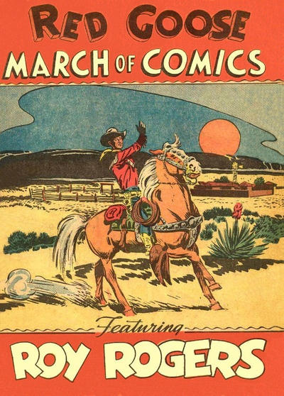 Cover for March of Comics (Western, 1946 series) #35