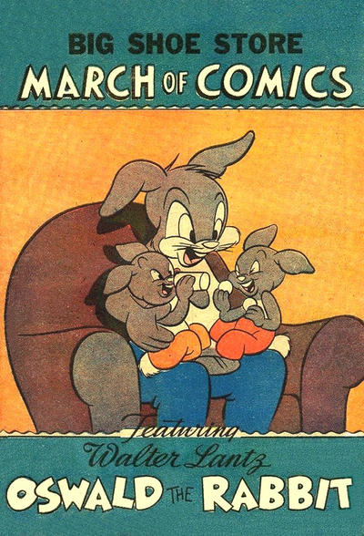 Cover for Boys' and Girls' March of Comics (Western, 1946 series) #53 [Red Goose variant]
