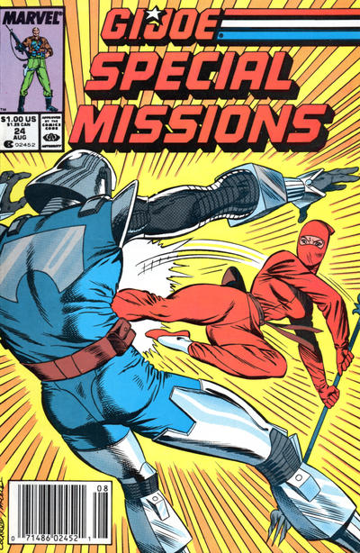 Cover for G.I. Joe Special Missions (Marvel, 1986 series) #24 [Direct Edition]