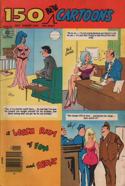 Cover for 150 New Cartoons (Charlton, 1962 series) #70