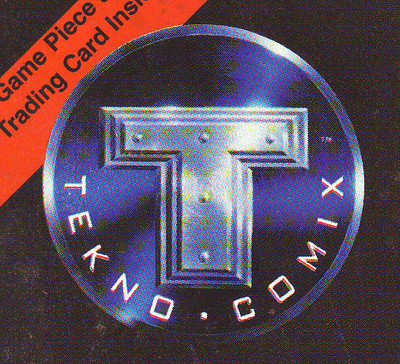 Tekno Comix Nov Dec 1995 Primortals Originals #1 /& 2