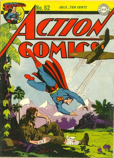 Cover for Action Comics (DC, 1938 series) #62