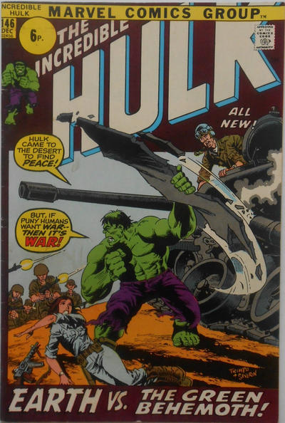 GCD Cover The Incredible Hulk 146