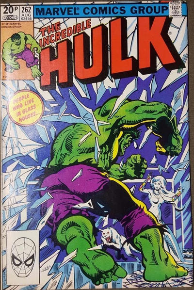 GCD Cover The Incredible Hulk 262