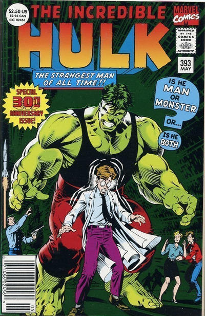 GCD Cover The Incredible Hulk 393