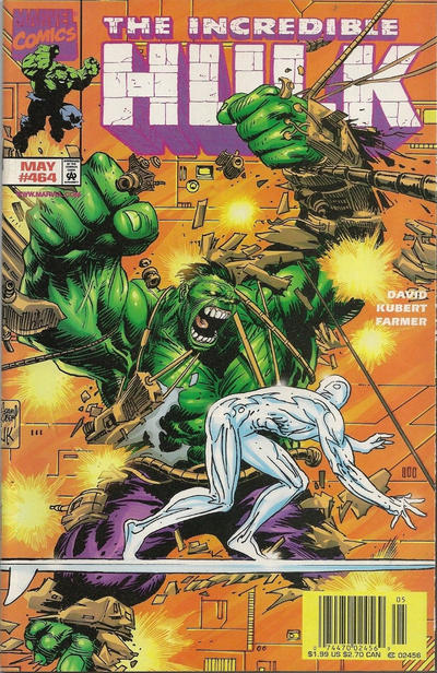 GCD Cover The Incredible Hulk 464