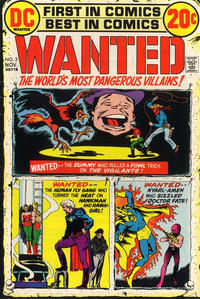 whats a cover letter gcd issue wanted the world s most dangerous villains 3 25612 | 17027