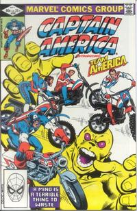 GCD :: Issue :: Captain America #269 [Direct]