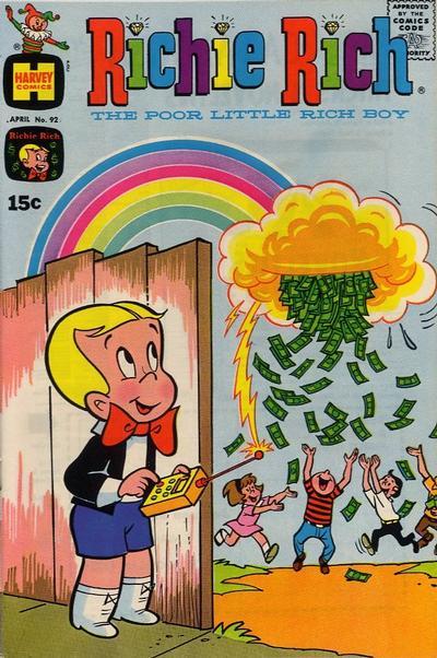 GCD :: Cover :: Richie Rich #92