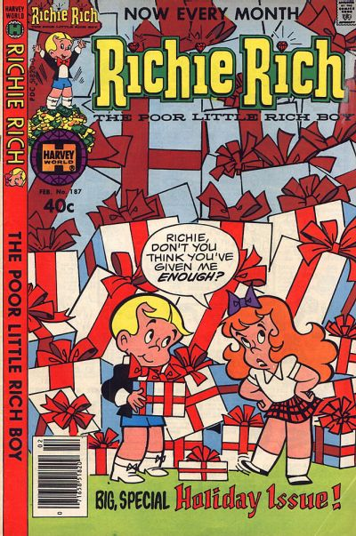 GCD :: Cover :: Richie Rich #187