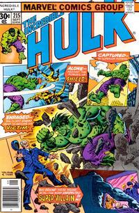 GCD Issue The Incredible Hulk 215 30
