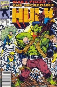 GCD Issue The Incredible Hulk 391 Newsstand
