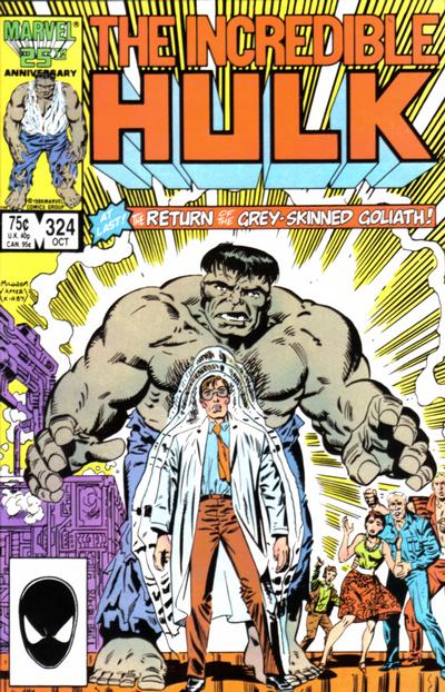 GCD Cover The Incredible Hulk 324