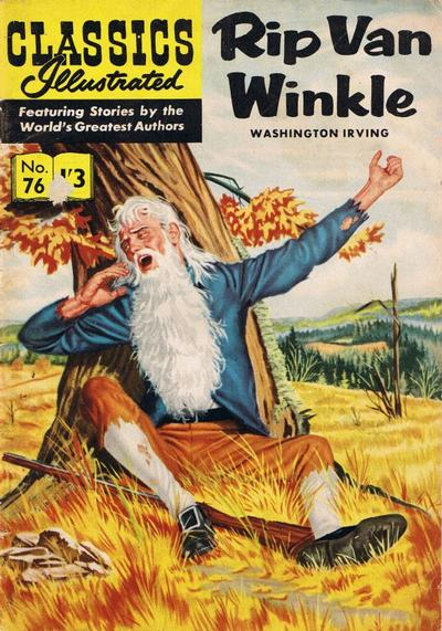 creative writing assignment rip van winkle Rip van winkle is one of the most popular americas short story, derived from german folk stories it's a very captivating story that has been very competitive internationally.