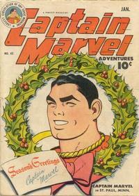 Gcd Issue Captain Marvel Adventures 42