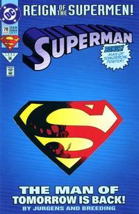 Gcd Issue Superman 78 Die Cut Cover Edition