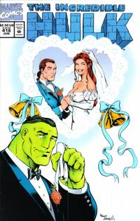 GCD Issue The Incredible Hulk 418 Wedding