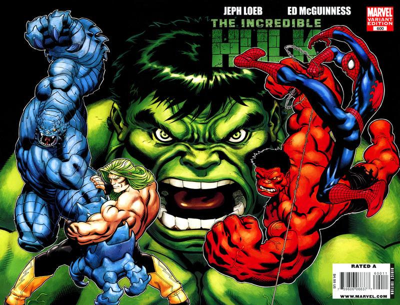 GCD Cover Incredible Hulk 600