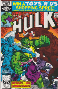 GCD Issue The Incredible Hulk 252 Direct