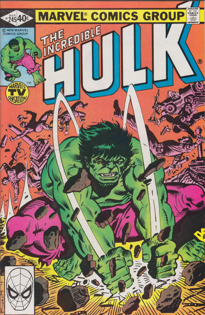 GCD Cover The Incredible Hulk 245
