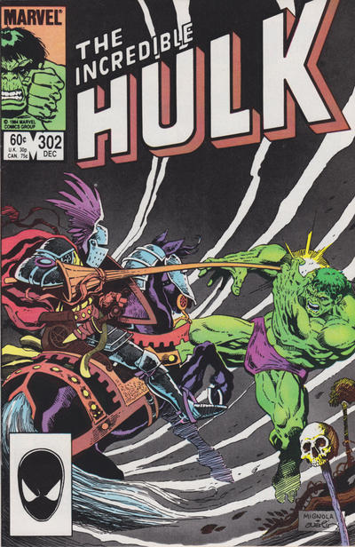 GCD Cover The Incredible Hulk 302