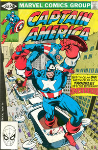 GCD :: Issue :: Captain America #262 [Direct]