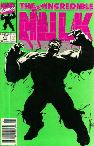GCD Cover The Incredible Hulk 377
