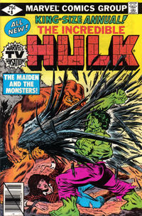 GCD Issue The Incredible Hulk Annual 8 Direct