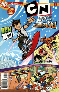 GCD Issue Cartoon Network Action Pack 6