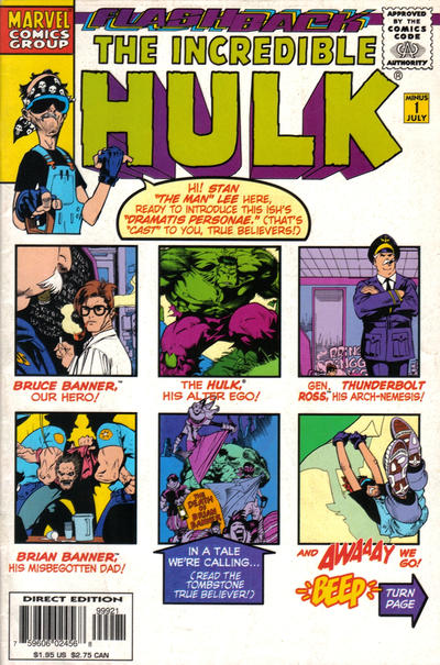 GCD Cover The Incredible Hulk 1