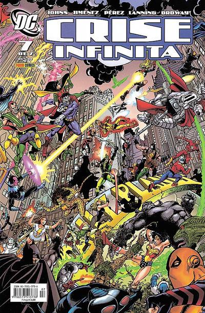 GCD :: Cover :: Crise Infinita #7
