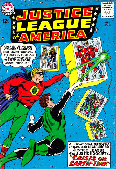 Cover for Justice League of America (DC, 1960 series) #22