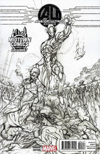 Gcd Issue Age Of Ultron 1 Midtown Comics Sketch