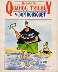 Bousquet Rhode Island Cartoon Map